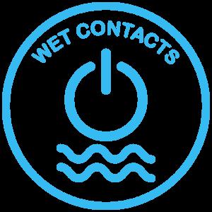 DC wetcontacts