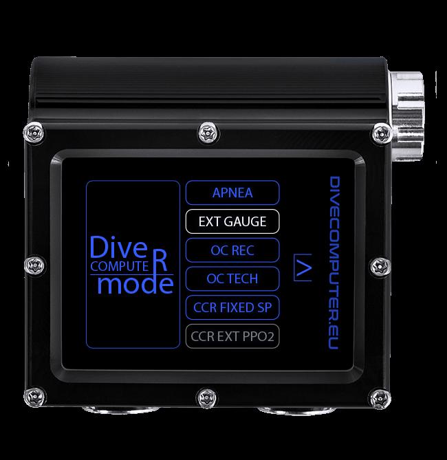 Dive computer mode
