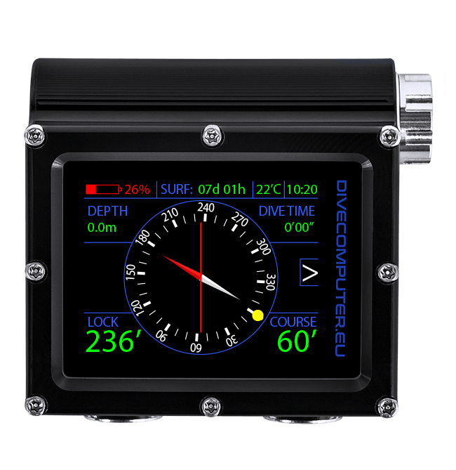 Surface compass screen