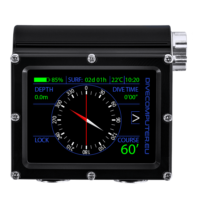 Pure Buhlmann Mode - surface compass screen